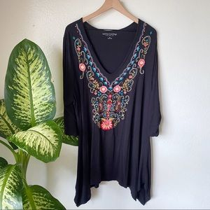 Soft Surroundings | Embroidered Tunic